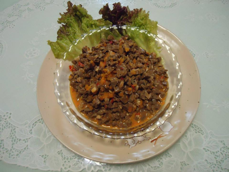 妻の作るフィリピン料理BOPIS(ボピス)