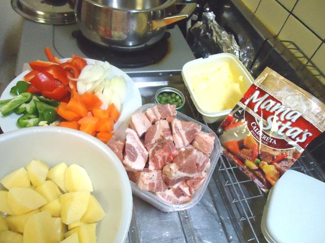 フィリピン料理 カルデレータ 材料