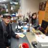 富士市吉原商店街ラジオエフ・スタジオ内の写真ですよ