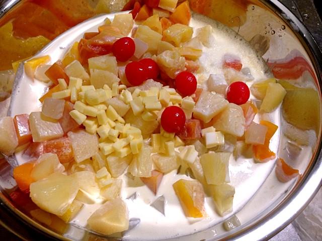 フルーツサラダ作り方