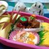 今日は小学校のミニ遠足。子供のお弁当作りで朝から「アイナコ!」