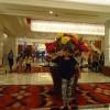 超ゴージャス!おしゃれなマニラのカジノでのフィリピンママのセレブ風写真