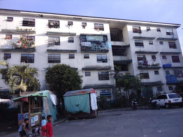 マニラのアパート
