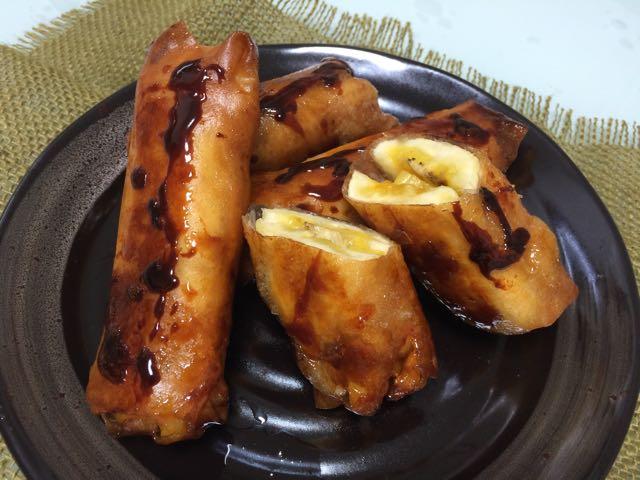 南国気分!フィリピン名物のバナナ春巻き【トゥロン】の作り方