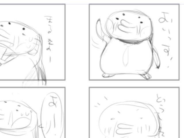 おじさんペンギン02