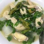 マルンガイ収穫!今夜はフィリピン料理・ティノランマノックで~す