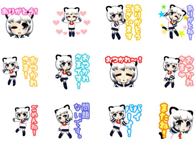 3D猫耳少女02