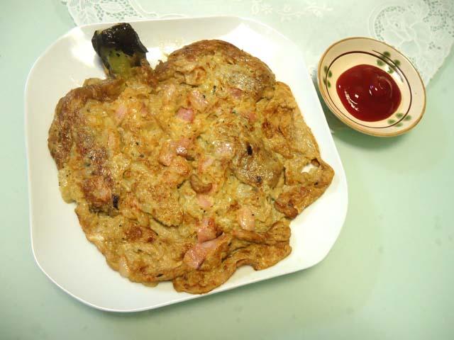フィリピン料理「トルタン・タロン」ナスの卵焼き